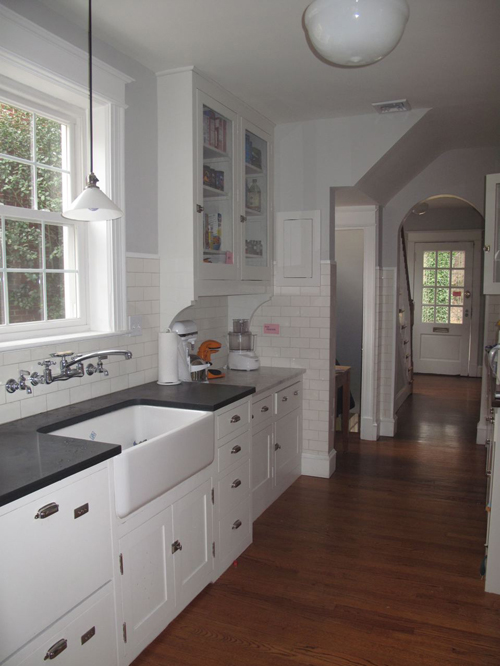 1930s colonial revival kitchen nr hiller design inc