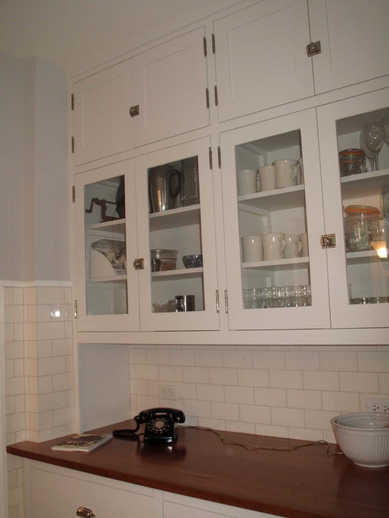Malley kitchen_cherry counter area