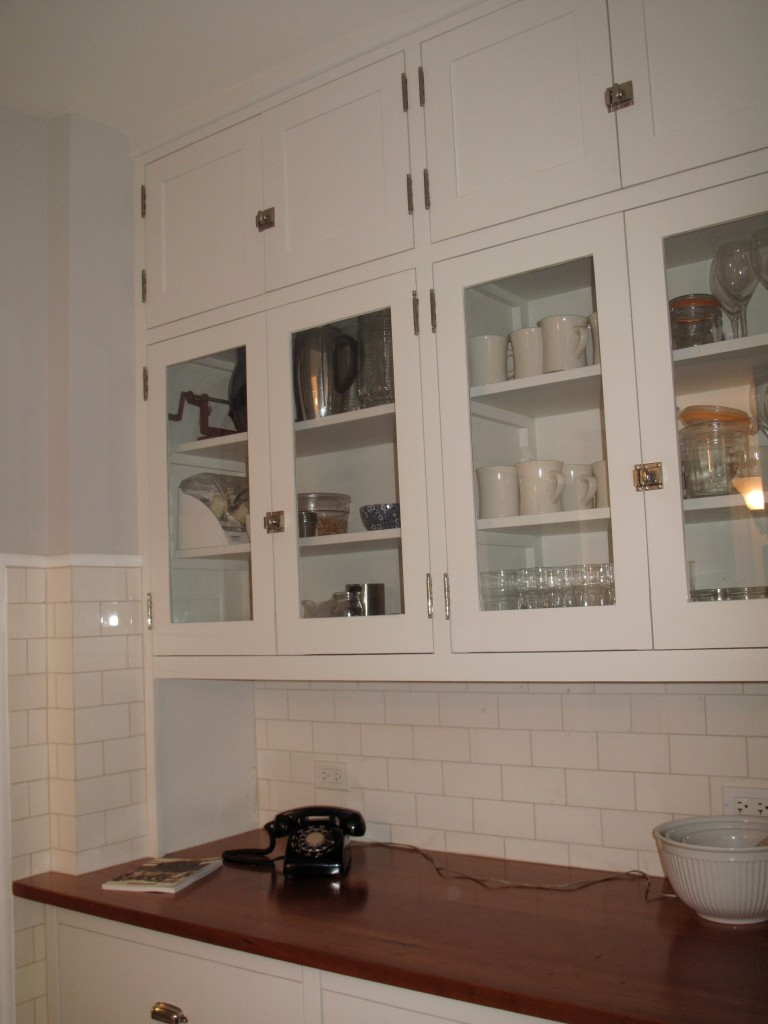 Malley kitchen_cherry counter area